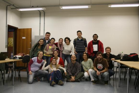 Enconttreir@s do mundo, foto final do seminário